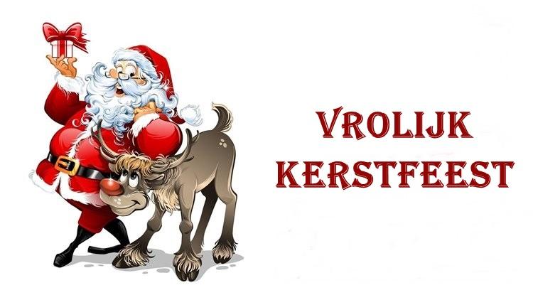 kerstman vrolijke kerst